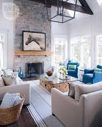 modern cottage interior design ideas. house tour: modern nautical-style cottage interior design ideas o