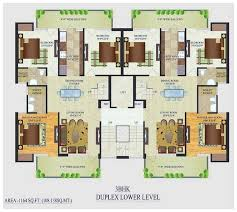 adorable duplex home plans indian style house floor best of single bedroom
