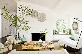 view in gallery varied elements also give the living room a textural contrast chic feng shui living room