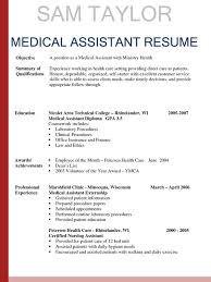 Certified Medical Assistant Resume Samples Elegant Clinical Medical