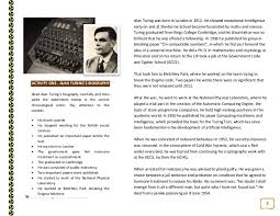 the imitationgame dossier 4 3 activity one alan turing s