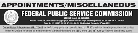 fpsc charge nurse jobs apply online last date advertisement