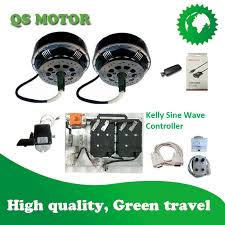 QSMOTOR 16KW Small Electric Car Conversion kits qs motorcom