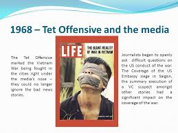 lesson objectives to understand the change in media coverage of 1968 tet offensive and the media