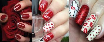 Romantic Valentine Nail Art Designs & Ideas for Valentine's Day