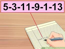 Powerball Numbers Frequency Number Chart 4 Ways To Choose Lottery Numbers Wikihow