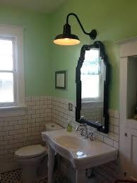 industrial style bathroom lighting. Industrial Style Bathroom Vanity Black Light Lighting Ideas With Elegant
