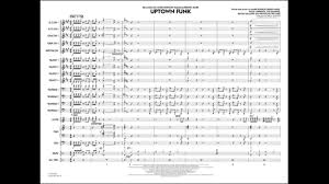 Uptown Funk Arranged By Paul Murtha