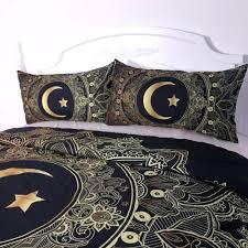 full moon loom duvet covers moon and stars duvet cover uk full moon duvet covers black and gold mandala flower with star moon duvet cover set
