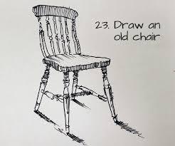 chair drawing easy. Beginners Drawing Ideas 101 Sketchbook Chair Easy