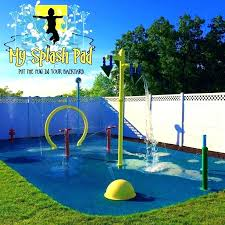 home splash pad kits my pa installer water park builder aquatic play area pads diy for