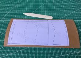 Leather Templates Tutorial Making Leather Template Leathercove