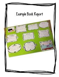 Book Report Poster Template Poster Board Book Report