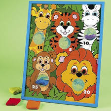 Wooden Bean Bag Toss Game Jungle Animal Character Bean Bag Toss Game List price 100100 39