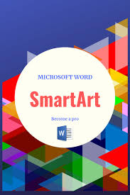 Smart Art Design Word Smartart In Microsoft Word Word Skills Microsoft Word