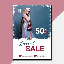 Special Sale Offer Flyer Design Template For Free Download