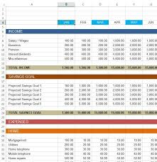 examples of personal budgets download free excel examples downloadexceltemplate com