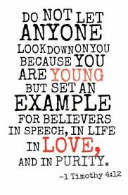 Christian Quotes About Youth