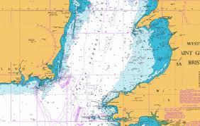 Saint Georges Channel Marine Chart 1410_0 Nautical