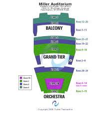 Miller Auditorium Kalamazoo Seating Chart Wicked 2017 Tickets Miller Auditorium Seating Chart End