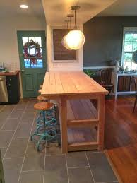Custom Kitchen Islands That Look Like Furniture My Industrial Look Kitchen Island And That Time I Messed Up