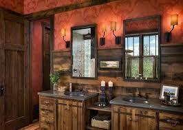 Vanity Sconces Bathroom Bathroom Awesome Modern Red Wall Mounted Double Bathroom Vanities
