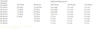 table cloth sizes table measurements chart round table sizes table cloth sizes tablecloth size chart copy