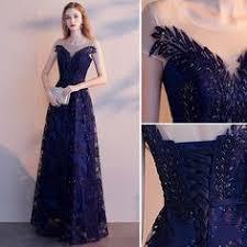 Deep V-neck Mesh Sequined <b>Banquet Evening Dress</b> in <b>2019</b> ...