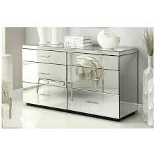 mirrored furniture. RIO Mirrored Dressing Table 6 Drawer Dresser Chest - Mirror Furniture E