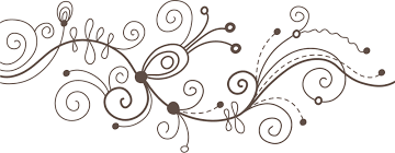 ポップでかわいい花のイラストフリー素材no1107白黒かわいい絵7