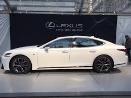 2018 lexus 500 f sport. Fine Sport View Larger Image 2018 Lexus LS 500 FSport Debuts In New York To Lexus F Sport