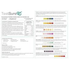 Water Test Chart 9 In 1 Water Test Kit 9 Parameter Drinking Water Test