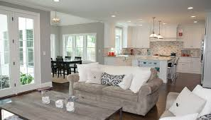 breakfast nook chandelier family room contemporary with square