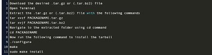 how to install tar gz in ubuntu 20 04