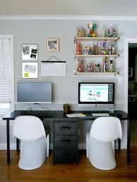 home office desks for two. diy a two person desk to make an organized and practical workspace i like how home office desks for r