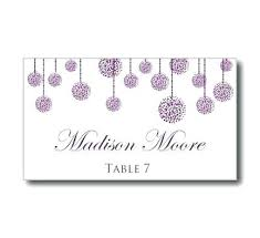 Conveniently Create Ten Place Cards In One Page Wedding Table Name
