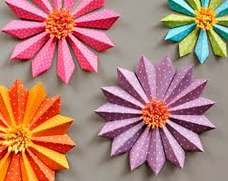 Making Of Flower With Paper How Do We Make A Paper Flower 15 Easy Paper Flowers Crafts