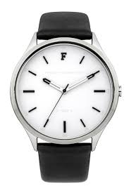 kensington grand monochrome leather strap watch collections loading images
