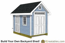Small Picture 8x12 Shed Plans Buy Easy to Build Modern Shed Designs