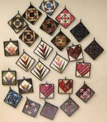 paper pieced quilt jewelry