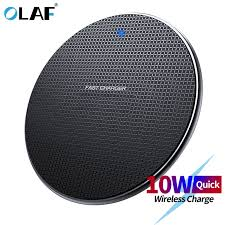 <b>Olaf 10W Fast Wireless</b> Charger Charging Pad <b>wireless Fast</b> ...