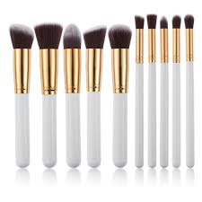 10pcs set professional makeup brush set make up brushes kit cosmetic powder foundation brush eyeliner brush for shadows lipstick in eye shadow applicator