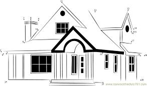 home design plans indian style dot to dot printable worksheet