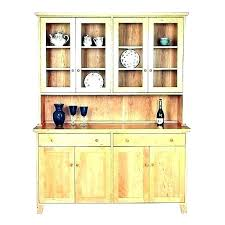 white buffet and hutch with framed glass doors drawer antique dining for oak rustic sideboard