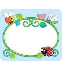 cd150037carson dellosa 3 72 teachchildren com buggy for bugs name tags cd150037 carson dellosa html