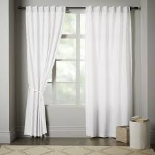 window with white curtains. Beautiful Window Linen Cotton Curtain  Stone White Intended Window With Curtains