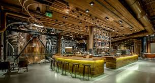 Starbucks Design Starbucks Roastery And Tasting Us Project Delta Light