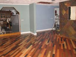 basement finish with painted wood floors and wall decor also interior paint color with how to clean painted wood floors and baseboard plus home improvement