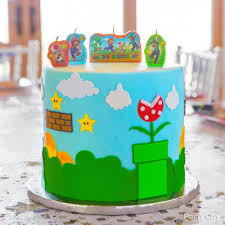 If you want to download the image above, right click on the image and then save image as. Super Mario Cake How Party City