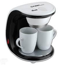 Капельная <b>кофеварка FIRST FA-5453-2 White/black</b> - купить по ...